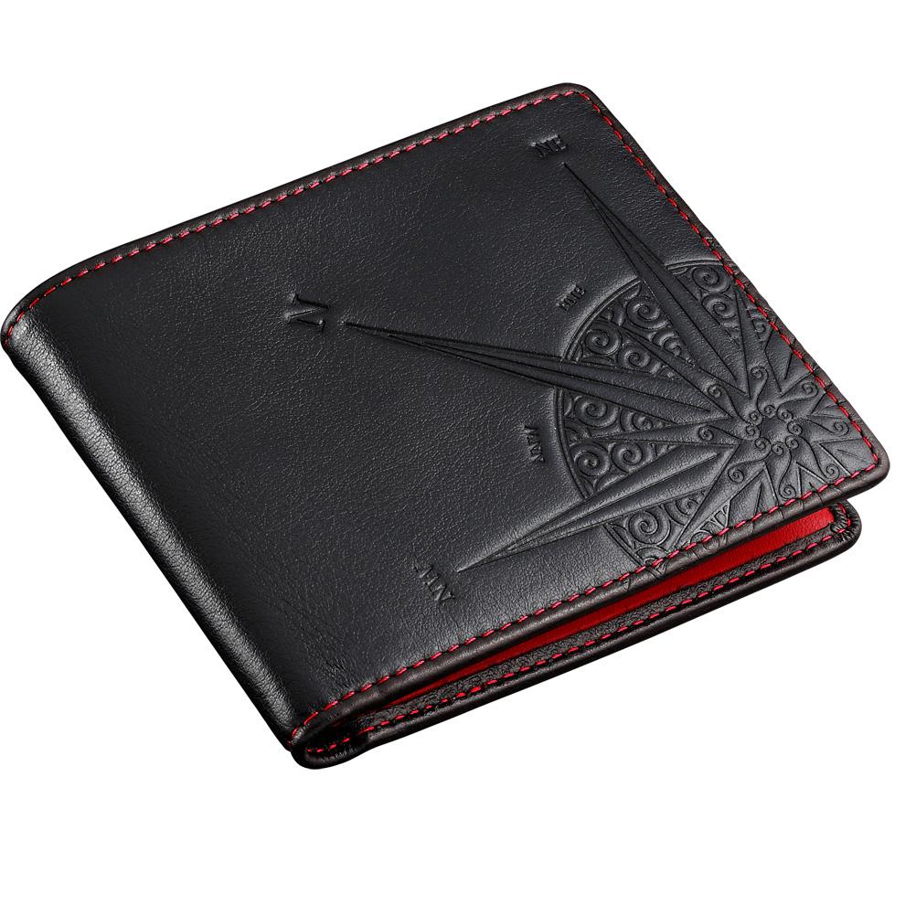 rivenditore di vendita 0f2ba 0653f ZANCAN portafoglio uomo in vera pelle interno rosso HPL 026